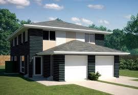 Duplex Floor Plans Australia Narrow Block 2 X 3 Bedroom Townhouse Kit Home Designs Australian