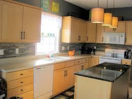 Painted Kitchen Backsplash Painted Backsplashes Benjamin Moore Starts A Trend With Stenciled