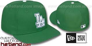 dodgers st patricks day fitted hat by new era at hatland com