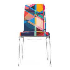 chaise de b b chaise de salle à manger contemporaine en tissu en polycarbonate