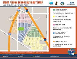 Santa Fe Map Florence Avenue Interchange
