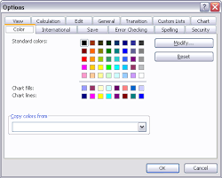 colour themes for excel using colors in excel charts peltier tech blog
