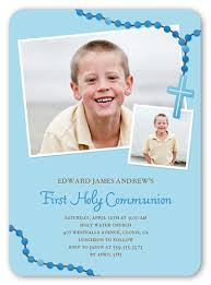 communion invitations boy prayer boy 5x7 invitation communion invitations