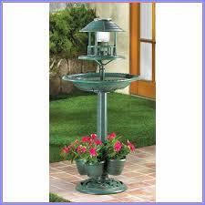 wilson and fisher solar lighted bird bath gablemere bird bath with solar light bird feeder planter solar
