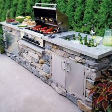Outside Kitchen Ideas Best 25 Outdoor Kitchens Ideas On Pinterest Backyard Kitchen