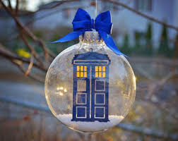 dr who s tardis ornament
