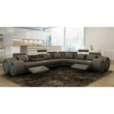 canap d angle cuir gris canapé d angle design cuir gris relax oslo achat vente canape