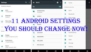 android settings android settings you should change now mytechhelps