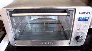 Small Toaster Oven Reviews Cuisinart Digital Convection Toaster Oven 872953 Youtube