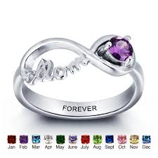 online get cheap personalized engraved rings couple aliexpress best gift personalized birthstone promise couple ring sterling silver engraved with name infinity rings for women