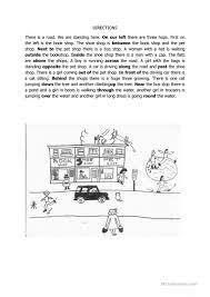 Preposition Practice Worksheets 59 Free Esl Dictation Worksheets