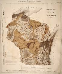 Wisconsin Radar Map by Soil Map Of Wisconsin Compiled By Chamberlin 1882 Legend In