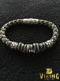 braided steel bracelet images Braided viking steel bracelet b006 viking merch jpg