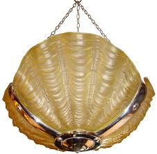 1930 Light Fixtures 1930 S Deco Clam Shell Light Fixture Modernism