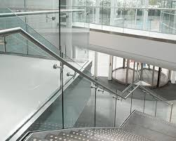 Banister Glass Crl Arch Frameless Glass Railing Systems Glass Railings