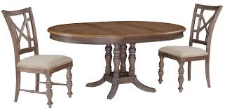 Oval Dining Tables And Chairs Rustic Dining Table With Carved Pedestal Base Combined
