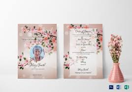 funeral invitation eulogy funeral invitation design template in word psd publisher