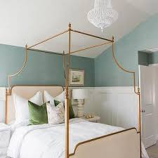 Gold Canopy Bed Gold Leaf Canopy Bed Design Ideas