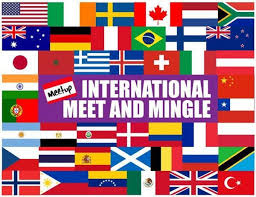 international member mingle comp appetizers drink specials