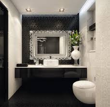 bathroom accent wall ideas white bathroom with black accent wall bathroom