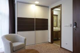 bedroom furniture aluminum wooden combined cabinet wardrobe with
