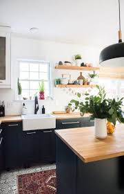 what color cabinets look with countertops 25 butcher block countertops for your kitchen shelterness