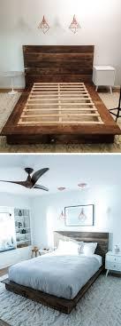 Make Your Own Platform Bed Frame Diy Reclaimed Wood Platform Bed Wood Platform Bed Platform Beds