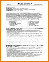 Usajobs Resume Example Of Government Resume Resume Example Go Government How To