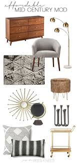 Best  Mid Century Decor Ideas On Pinterest Mid Century Mid - Cheap mid century modern furniture