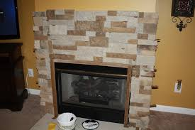 one more made four our fireplace makeover using airstone