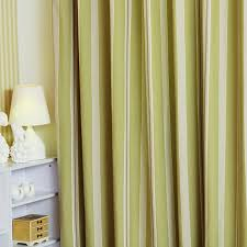 Striped Living Room Curtains by And Modern Striped Curtains In Bud Green Polyester Living Room Curtain