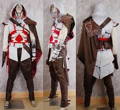 Halloween Costumes Video Games Assassin U0027s Creed Brotherhood Ezio Cosplay Costume Halloween