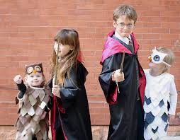 at second street harry potter and friends