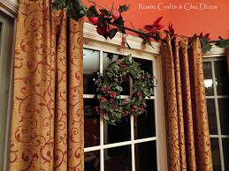 a red dining room decorated for christmas rustic crafts u0026 chic decor