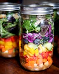 Meals In A Jar by Salad In A Jar Recipes Popsugar Fitness
