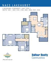 3 bedroom unit floor plans jb lakehurst u2013 pinehurst estates 3 bedroom townhouse floor plan