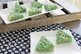 christmas tree rice krispie treats the crazy craft lady