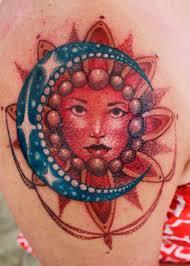 sun moon mandala by steve phipps tattoonow