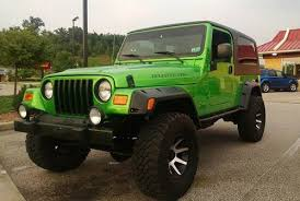 2005 jeep wrangler unlimited rubicon for sale 2005 jeep wrangler green rubicon unlimited for in sale pineville wv