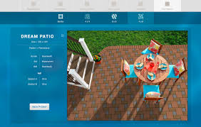 Design Your Own Patio Online Paver Visualizer Paver Petterns U0026 Design Azek