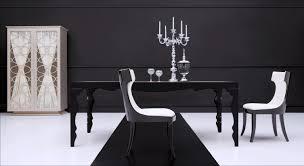 Modern Dining Sets Modern Dining Table Roma Black Rev Jpg Surripui Net