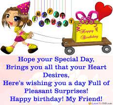 shayari happy birthday wishes for best friend