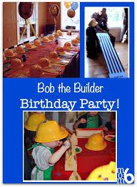 great 3 year birthday idea a bob the builder