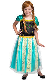 Anna Costume Anna Coronation Dress Girls Costume Frozen Kids Book Week Costume