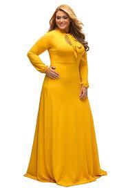 lalagen women u0027s vintage long sleeve plus size evening party maxi