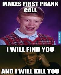 Meme Bad Luck Brian - bad luck brian prank call meme humoar com your source for moar