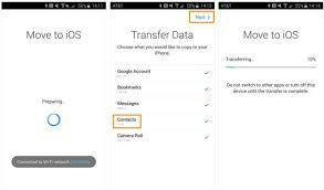 how to transfer contacts from android to iphone 3 ways to transfer contacts from android to iphone 8 8 plus