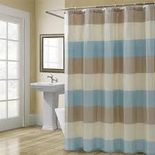 Brown And White Shower Curtains Shower Curtains Vinyl U0026 Fabric Croscill