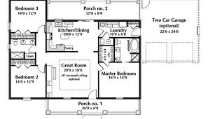 small one story house plans with porches small single story house plans luxamcc org