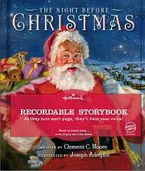recordable books the before christmas recordable storybook walmart